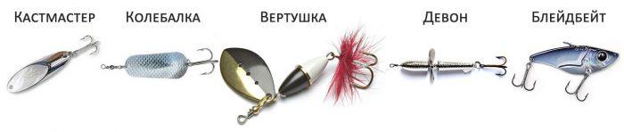 Виды приманки для рыб